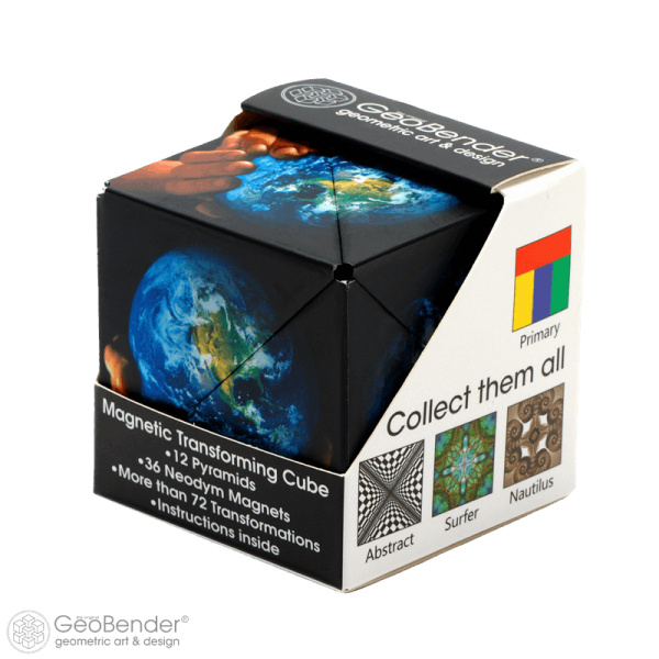 "GeoBender® Cube - ""World"""