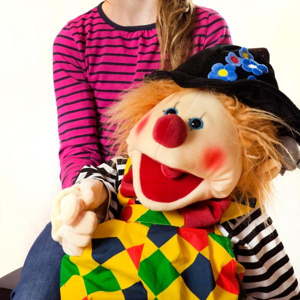 W428 Henni der Clown Lachen