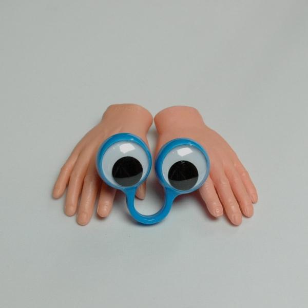 Fingerpuppenset blau