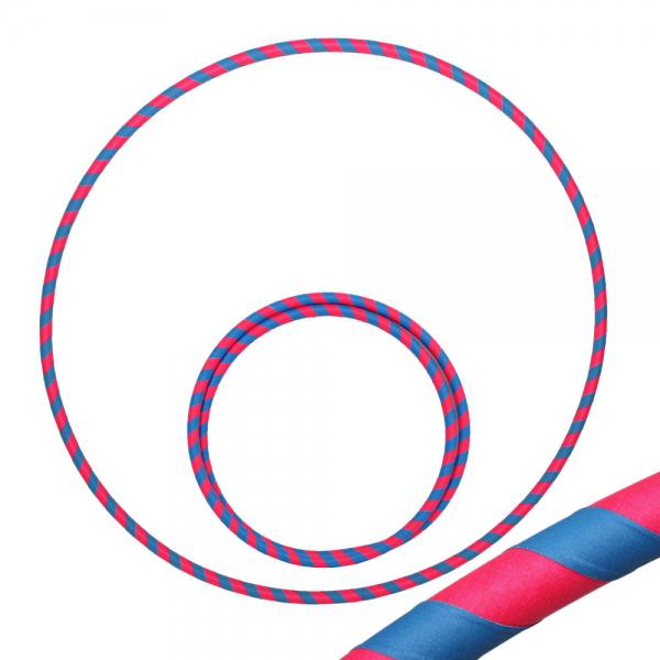 Hula Hoop, 80cm, blau / pink (uv)