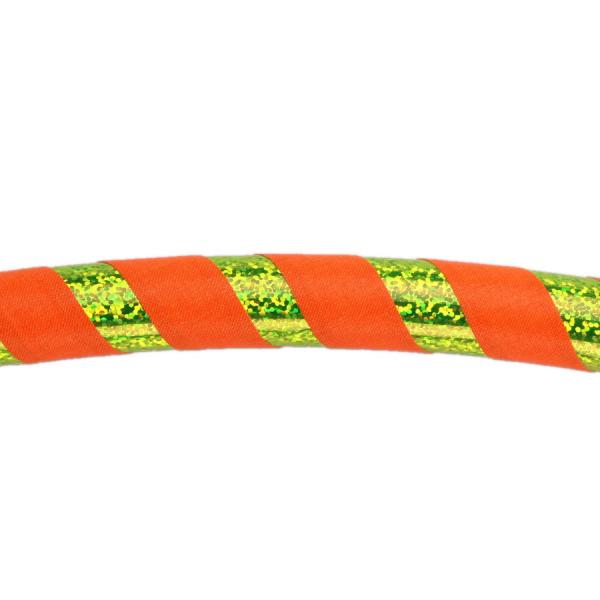 Hula Hoop, 90cm, orange (UV) / gelb-glitzer (UV!)