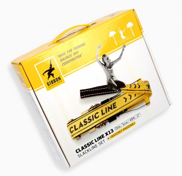 "Gibbon® Slackline ""Classic X13"" Packung"