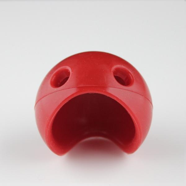 Eccentric Clownsnase rot Größe M