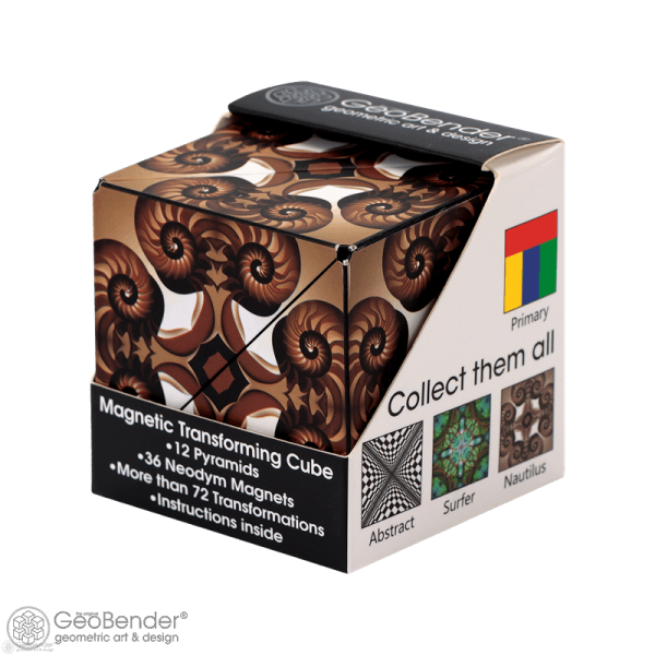 """GeoBender® Cube - """"Nautilus"""""""