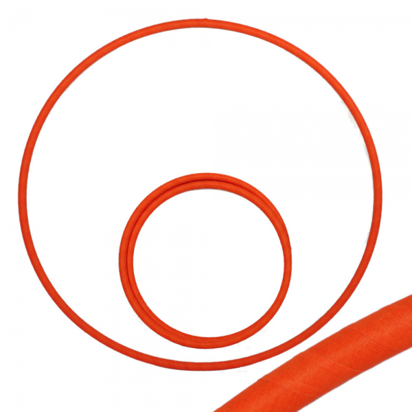 Hula Hoop, 80cm, UV orange