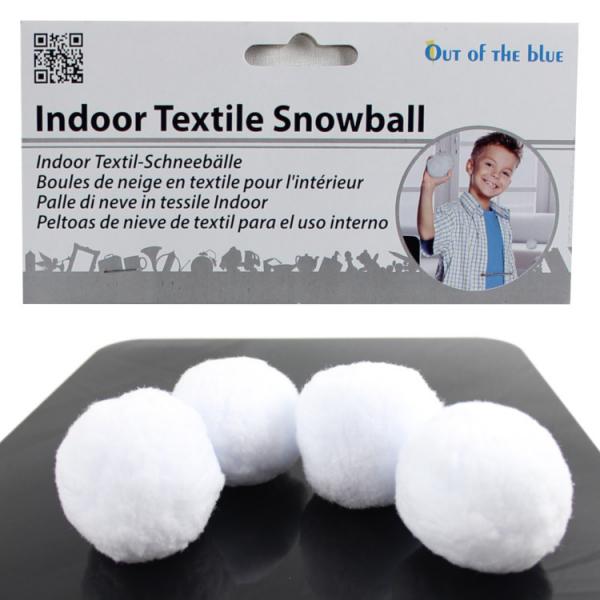 Schneebälle - für drinnen